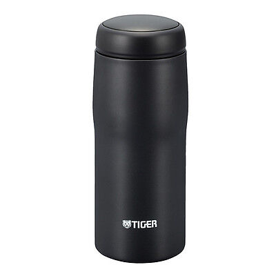 Tiger Stainless Steel Black Coffee Thermal Tumbler Bottle Made in Japan MJA-A048