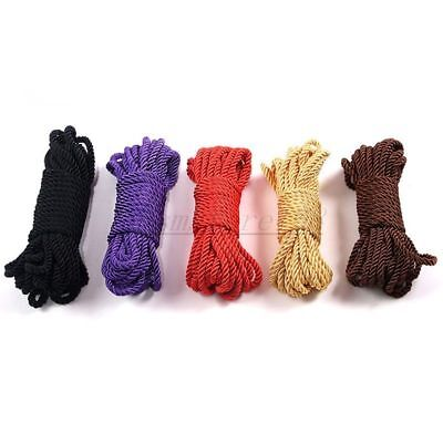 1x 33FT/10M Restraint Japanese Silk like Rope Soft To Touch Tie Up Fun Shibari