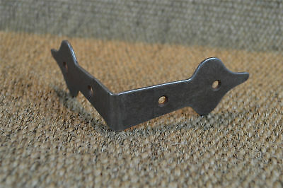 Antique style iron box corner plate chest corner protector corner strap C2