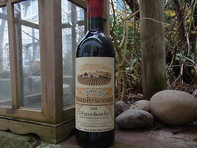 1988er  Chateau GRAND-PEY-LESCOURS  St.-Emilion Grand Cru