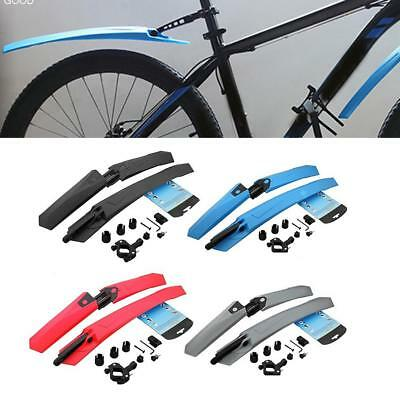 Bike Bicycle Mudguards Road Bike MTB Cycling Fender Front & Rear Mud Guard Set