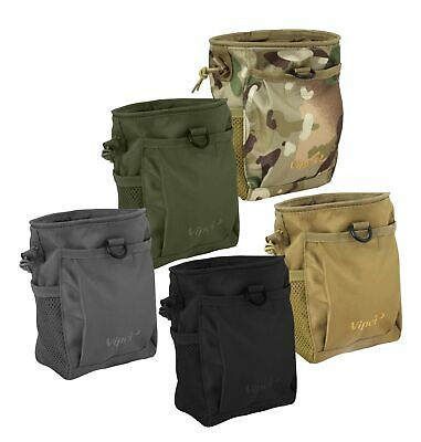 Viper Tactical Elite Dump Bag Military Airsoft Magazine Drop Pouch Used Mags