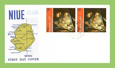 Niue 1971 Christmas issue First Day Cover