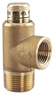 Watts Lead-Free Brass Calibrated Adjustable Relief Valve, MNPT Inlet Type, FNPT