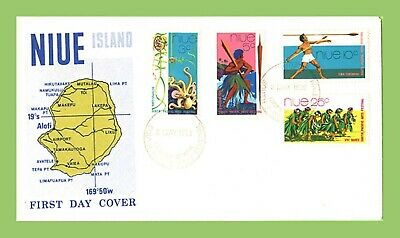 Niue 1972 South Pacific Arts Festival set First Day Cover
