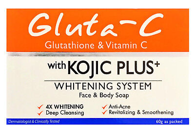 Gluta-C with Kojic Plus Lightening Face & Body Soap 60g (from £6.95 to £15.00)