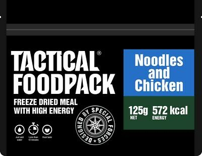 Tactical Foodpack Noodles and Chicken Outdoor Nahrung Notverpflegung