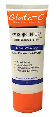 Gluta-C Kojic Plus Lightening Acne Control Face Wash 50g (from £8.95 to £20.00)