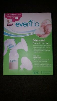 Evenflo Manual Breast Pump - Brand new!