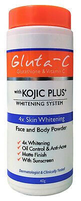 Gluta-C with Kojic Plus Lightening Face & Body Powder 40g (from £8.95 to £20.00)