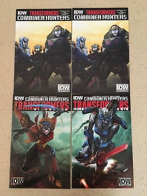 TRANSFORMERS COMBINER WARS Convention Variant Set IDW HTF