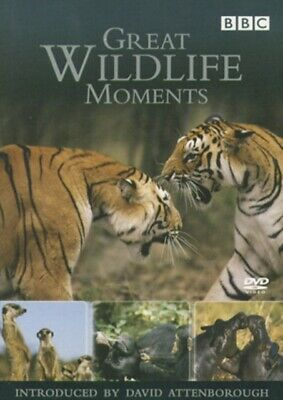 Great Wildlife Moments Introduced by David Attenborough [DVD], 50...