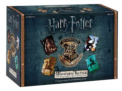 Gioco Carte Harry Potter Hogwarts Battle Expansion The Monster Box Of Monster