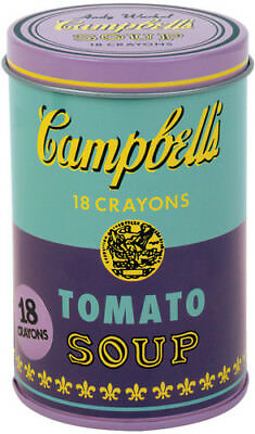 Andy Warhol Soup Can Crayons - Misc Purple