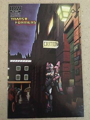 TRANSFORMERS ROBOTS IN DISGUISE #12 RI 1:10 Ziggy Bowie Variant IDW