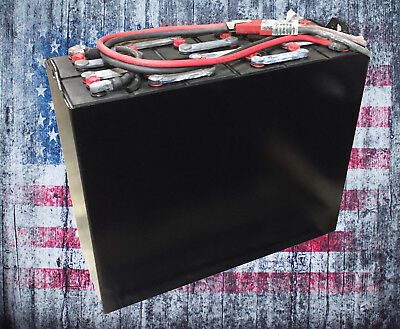 Refurbished 12-85-7 24V  Industrial Steel Case Forklift Battery