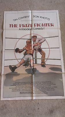 THE PRIZE FIGHTER ONE-SHEET ORIGINAL MOVIE POSTER 1979 DON KNOTTS/CONWAY 41 x 27