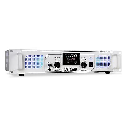 Skytec Spl-700-Mp3 Amplificatore Pa Usb-Sd 2000W Bianco - Offerta!