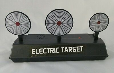 Electric Resetting target for Crystal Bullet, nerf, Rubber Band or orbeez guns