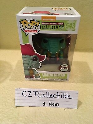 Funko POP Specialty Series TMNT Leatherhead! In Hand & Ready to Ship!!!