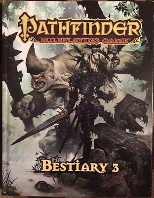Pathfinder Roleplaying Game Bestiary 3 Hardback Roleplaying Book