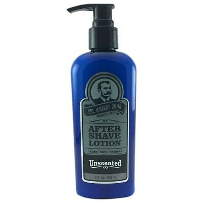 Colonel Conk Unscented Natural Aftershave Lotion 180ml *FAST POST*AUSSIE SELLER*