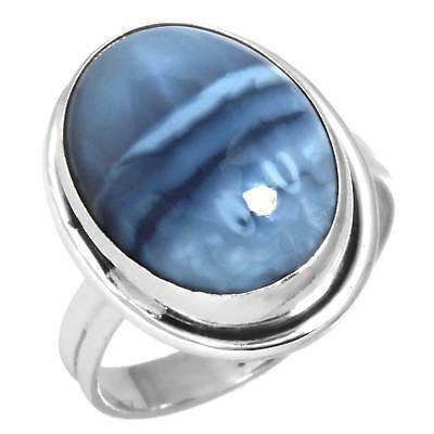 Natural Owyhee Opal Handmade Ring Solid 925 Sterling Silver Size 7.5 Wk16162
