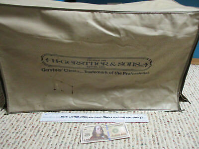 Vintage H. Gerstner & Sons Tool Box COVER, Vinyl, Fits Kennedy Machinist Chest