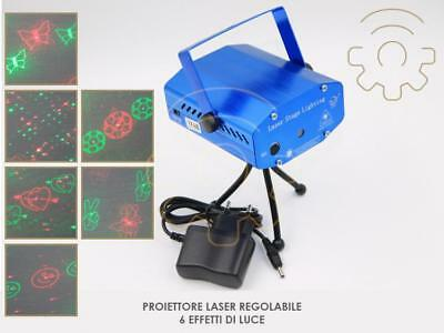 projector laser adjustable 6 effects of light Christmas discotheque dj ktv club