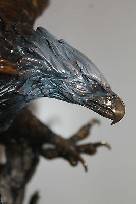 Lorenzo Ghiglieri Marauder bronze eagle MINT CONDITION w PAPERS MOTIVATED SELLER