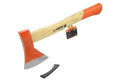 KSEIBI Axe Hatchet Champing Firewood Piling Tool with Wooden Handle 600G/800G
