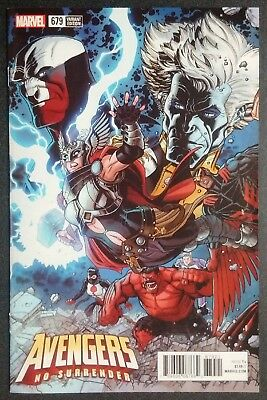 Avengers #679 1:25 Nick Bradshaw Variant First Challenger Marvel Comics Legacy