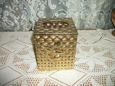 Vintage Chic Stylebuilt Filigree Tissue Box Strawberries Shabby Nice