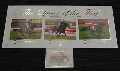 Makybe Diva Queen Of The Turf Triple Melbourne Cup Champion Limited Print Boss