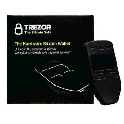 Trezor Cryptocurrency Secure Hardware USB Wallet | Bitcoin Crypto ERC20 And More