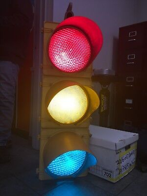 """Retired TCT Traffic Signal Light 12"""" Wired LED W/ Hanger WIRED"""