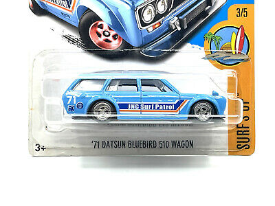 Custom Hot Wheels Transport Datsun 510 Bluebird Wagon /& Fleet Flayer Real Riders