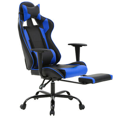 New Gaming Chair Racing Style High-back Office Chair Lumbar Support and Headrest