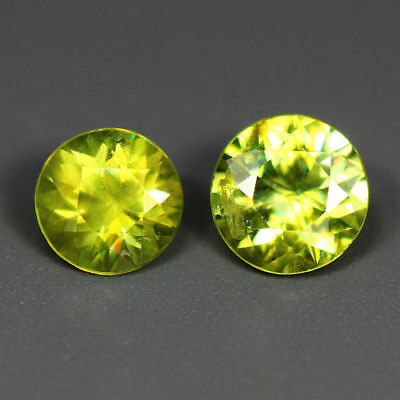 1.13 Cts_Rare_Best Sparkling Lime Yellow_100 % Natural Chrysoberyl_Sri Lanka
