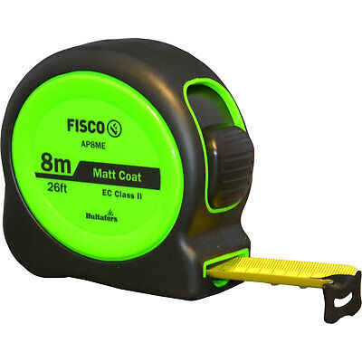 Fisco A1 Plus Tape Measure Imperial & Metric 26ft / 8m 25mm