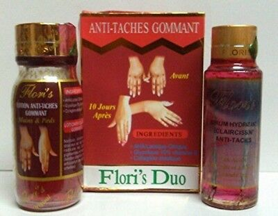 Flori' S Duo Floris  Anti-Taches Gommant Serum and Lotion