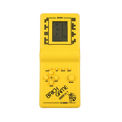 Classic Tetris Hand Held Electronic Game Toy Fun Brick Game Educational