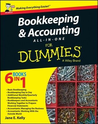 Bookkeeping & Accounting All-in-One For Dummies (Paperback), Kell...