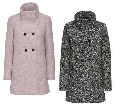 Only Ladies Woollen Coat Jacket Onlsophia Noma Wool Parka Autumn Winter