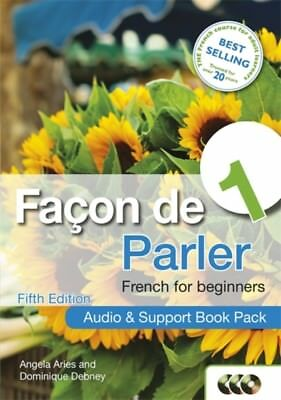 Facon de Parler 1 French for Beginners: Audio & Support Book Pack...