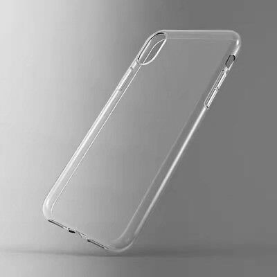 the best attitude cb593 8c189 FOR APPLE IPHONE X Case Crystal Clear Bumper Silicone Gel iPhone 10 ...