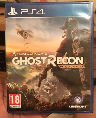 TOM CLANCY'S GHOST RECON: WILDLANDS (Sony PlayStation 4) PS4 LlKE NEW CONDITIONS