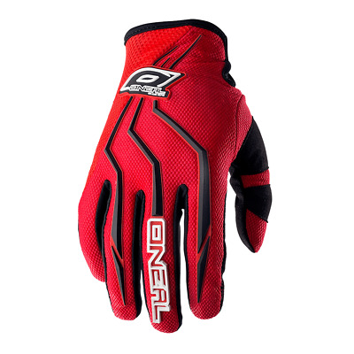 Moto Cross Kinder Handschuhe Oneal Element Rot Offroad Enduro Fahrrad !Sale!