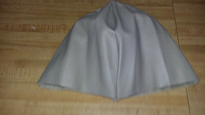 Dark Leather Skull Cap For Making Headdresses Or Head Pieces Powwow Regalia