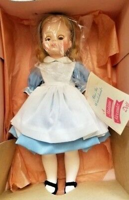 """Madame Alexander Doll """"ALICE IN WONDERLAND"""" #1552 Never out of the box!"""
